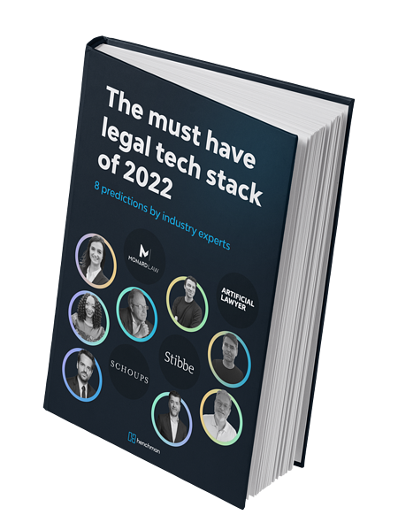Must have legal tech stack report